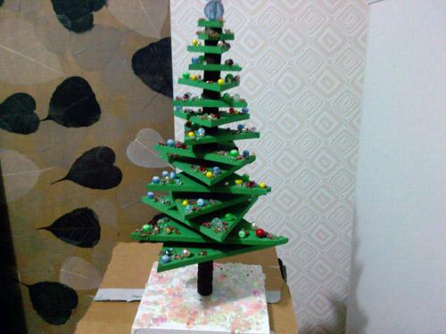 Новогодняя елка совими руками