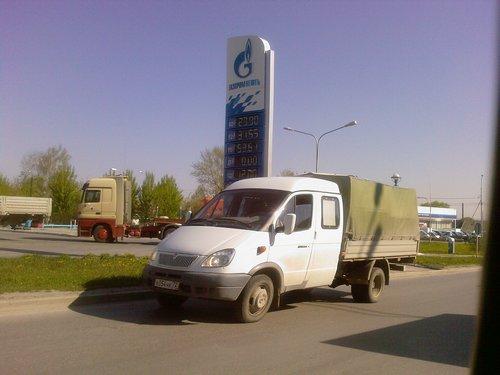Цена на 92 бензин в Тюмени